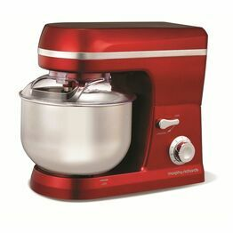 Morphy Richards Accents Stand Mixer Red 400010