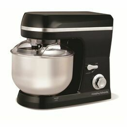 Morphy Richards Accents Stand Mixer Black 400011