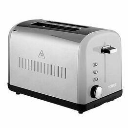 Tower Toaster 2 Slice Steel  T20014