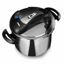 Tower 6 Litre Stainless Steel Pressure Cooker T90103