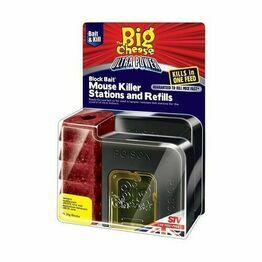 STV Ultra Power Block Bait Mouse Killer Stations and Refills STV565