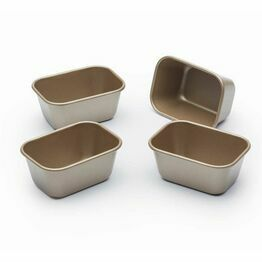 Paul Hollywood Set of 4 Non-Stick Mini Loaf Tins
