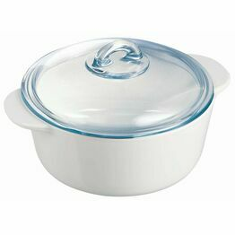 Pyroflam Flame Round Casserole Dish 2Ltr