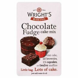 Wrights Chocolate Fudge Cake Mix 500g