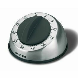 Salter Kitchen Timer Mechanical Stainless Steel