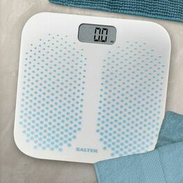 Salter Anti Slip Dual Moulded Bathroom Scale 9096BL3R