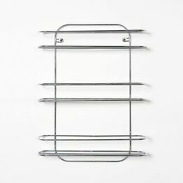 Delfinware Chrome Spice Rack 7709