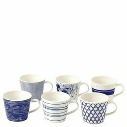 Royal Doulton Pacific Mugs Set of 6 - Small 40034459