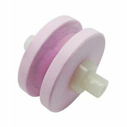 Grunwerg Spare Ceramic Wheel Pink/White 220Wp