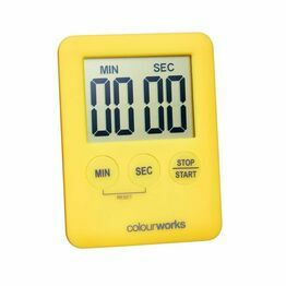 Colourworks Slimline Easy Read Timers asstd colours