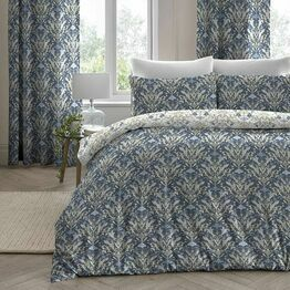 Dreams N Drapes Duvet Cover Set Venito Blue