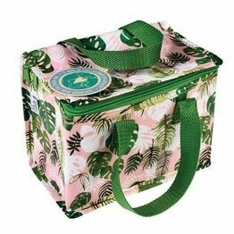 Recycled Insulated Lunch Bag - Tropical Palm