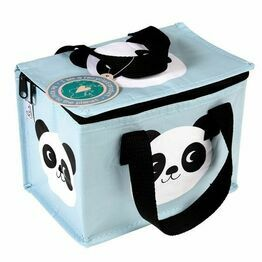 Recycled Insulated  Lunch Bag - Miki the Panda