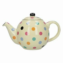 London Pottery Globe 4 Cup Teapot Multi Spot 84100