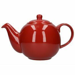 London Pottery Globe 6 Cup Teapot - Red