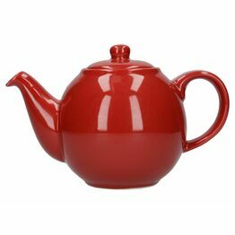 London Pottery Globe 2 Cup Teapot - Red