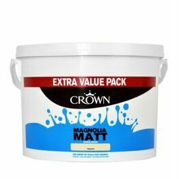 Crown Paint Matt Emulsion 7.5L Magnolia