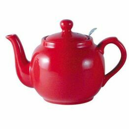 London Pottery Farmhouse Filter 2 Cup Teapot- Red