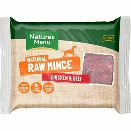 Natures Menu Raw Just Chicken & Beef Mince 400g