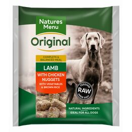 Natures Menu Raw Complete Lamb & Chicken Nuggets