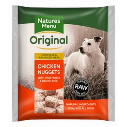 Natures Menu Raw Complete Chicken Nuggets