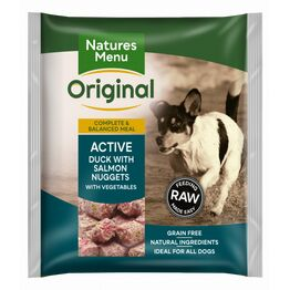 Natures Menu Raw Complete Active Salmon Nuggets