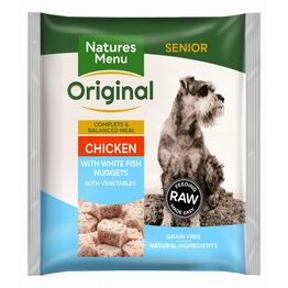 Natures Menu Raw Complete Senior Chicken & Fish Nuggets