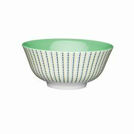KitchenCraft Moroccan Style Lime Hues Ceramic Bowl