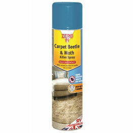 STV Carpet Beetle and Moth Killer Spray 300ml ZER977
