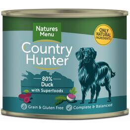 Country Hunter Duck with Superfoods 600g Can