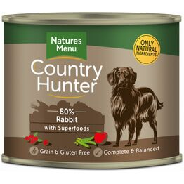 Country Hunter Rabbit with Superfoods 600g Can