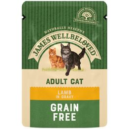 James Wellbeloved Adult Cat Food Lamb