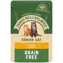 James Wellbeloved Senior Cat Food Lamb