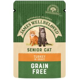 James Wellbeloved Senior Cat Food Turkey