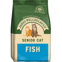 James Wellbeloved Senior Cat Food Fish
