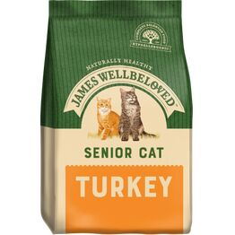 James Wellbeloved Senior Dry Cat Food Turkey