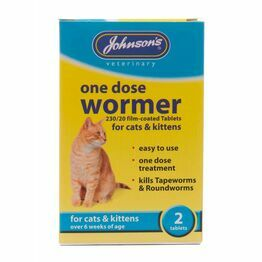 Johnsons Cats & Kittens Wormer 1 Dose B059