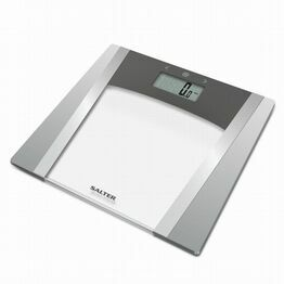 Salter Large Display Glass Analyser Scale - Silver 9127
