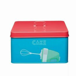 KitchenCraft Printed Steel Cake Tin