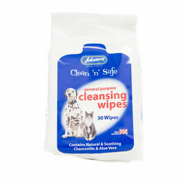 Johnsons Clean n safe Cleansing Wipes C043