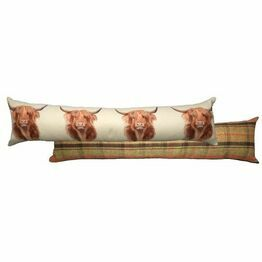 Draught Excluder Hunter Highland Cow T265