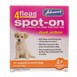 Johnsons Spot-On Puppies Dual Action D048