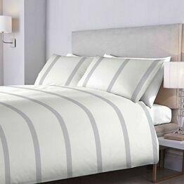 Bed and Bath Duvet Cover Set Epsom Waffle