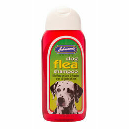 Johnsons Dog Flea Shampoo 200ml G008