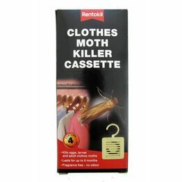 Rentokil Clothes Moth Killer Cassette FM41 (pack of 4)