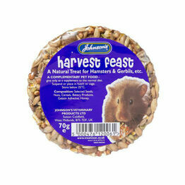 Johnsons Hamster Harvest Feast Ring 70g L006
