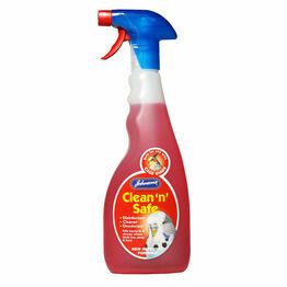 Johnsons Clean n Safe Cage Bird 500ml M075