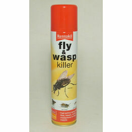 Rentokil Fly & Wasp Killer 300ml PSF126