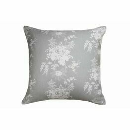 Cabbages & Roses Charlotte Grey/Green Cushion