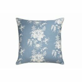 Cabbages & Roses Charlotte Cornflower Cushion